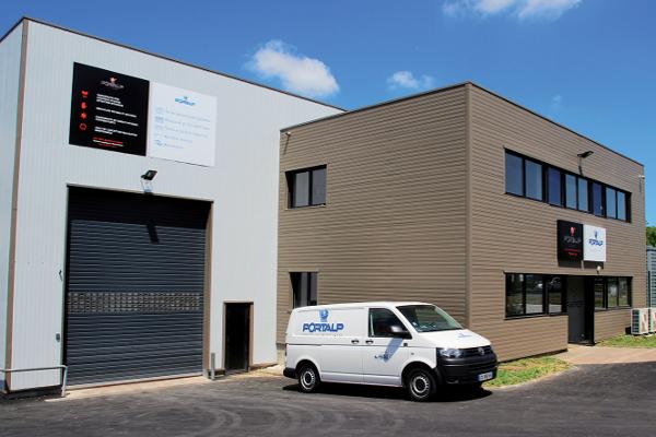 Cormelles-le-Royal dans le Calvados, l'une des 26 agences de Portalp en France. ©Portalp