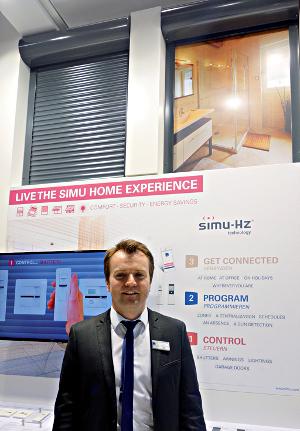 Olivier Bourgetel, Responsable marketing distribution & communication Simu ©Simu