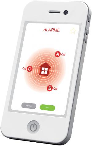 Alarme connectée TaHoma et Verisure ©Somfy