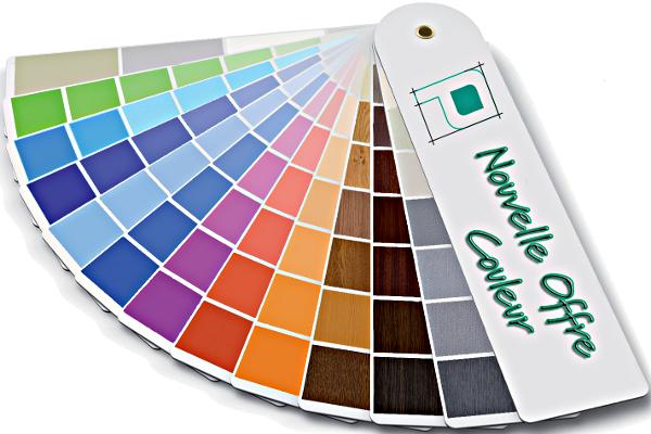 Large éventail couleur proposé par Profialis ©Profialis