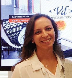 Laura Ferry, chargée de communication de VD Industry ©V&MA