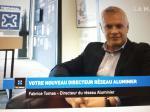 Fabrice Tomas, nouveau directeur du réseau Aluminier se présente dans la Matinale Technal