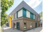 Louineau customise l'école modulaire Joséphine-Baker à Nantes