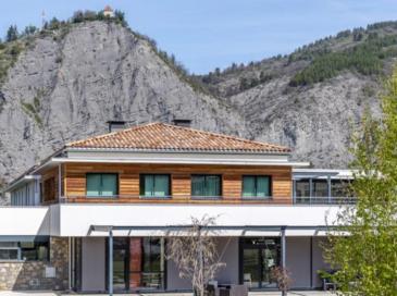 Une construction architecturale sublimée par l'aluminium