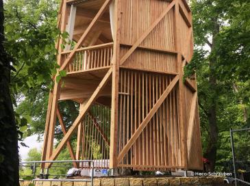 Nouvelle structure en bois dans la vallée de la Rems en Allemagne