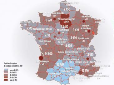 Baromètre de l'artisanat : hausse de la création d'entreprises artisanales en France