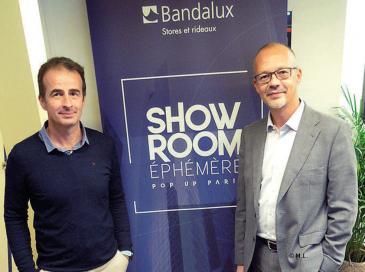 Bandalux tient un show-room éphémère