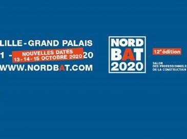 Nouvelles dates pour le salon NORDBAT