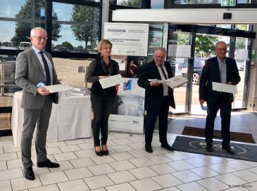 Le Crédit Agricole Normandie-Seine agit avec RIOU Glass