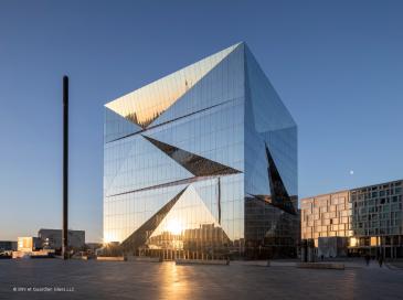 Cube Berlin : une façade double peau carrément réussie !