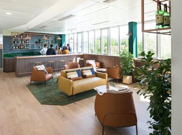 Le nouveau siège de Pernod Ricard, meilleur projet d'architecture d'intérieur de l'année