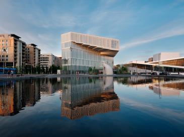 Okalux coiffe le toit de la bibliothèque Deichman Bjørvika à Oslo
