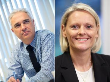 Bruno Cadudal, réélu président de l'UFME et Cécile Sanz, nommée vice-présidente