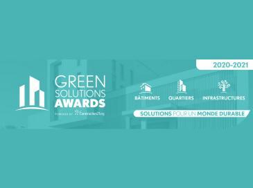 Green Solutions Awards 2020-21 révèle les lauréats français