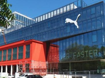 Une façade double peau Schüco pour le siège social Puma à Strasbourg