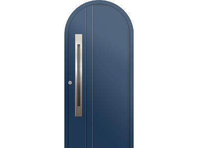 Porte d'entrée monobloc plein cintre - Gamme « SIGNATURES »