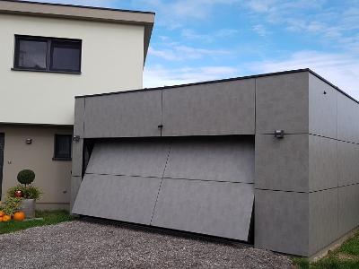 Porte de garage autoportée