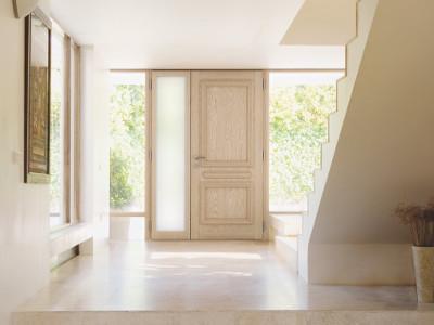 Portes d'entrée bois-aluminium