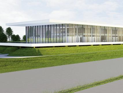 """Renson s'offre un tout nouveau bâtiment """"outdoor living"""" XXL"""