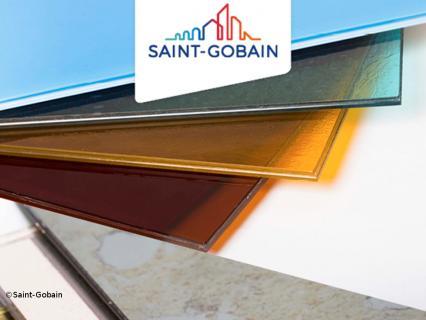 Saint-Gobain présente son nouveau verre Stadip Art Glass