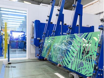 Un nouveau procédé d'impression numérique pour Riou Glass