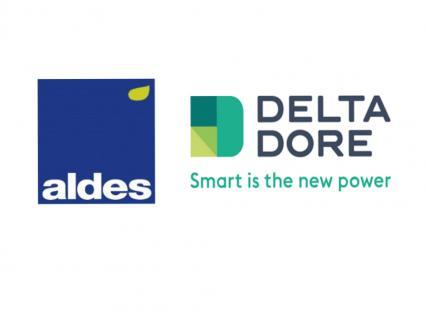 Aldes et Delta Dore s'unissent pour offrir un confort thermique intelligent