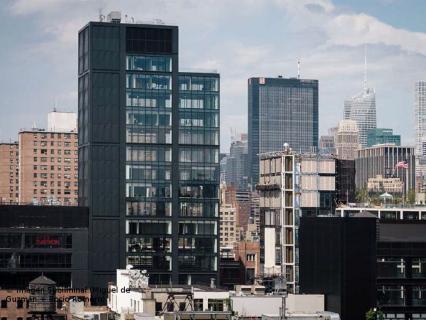 Wicona présente sur l'une des tour les plus hautes de New-York