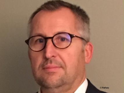 Bruno Bernarczyk, nouveau manager de la division Window Solutions Rehau