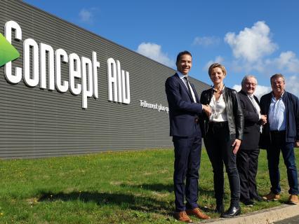 Concept Alu signe un accord d'exclusivité avec RIOU Glass