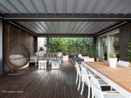 KE rénove un attique de style industriel