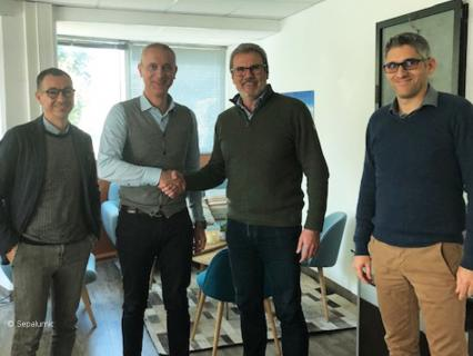 Sepalumic signe l'achat d'une presse hybride unique en France