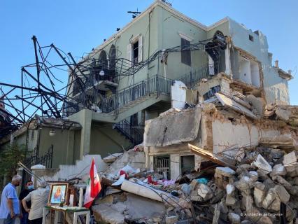Les Architectes de l'urgence au service des libanais à Beyrouth