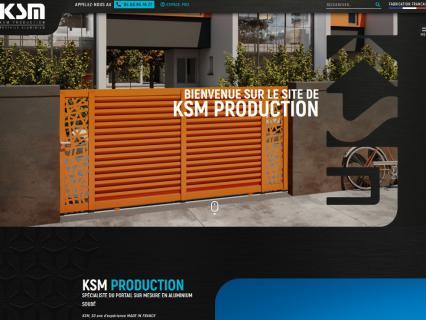 KSM dévoile son nouveau site Internet