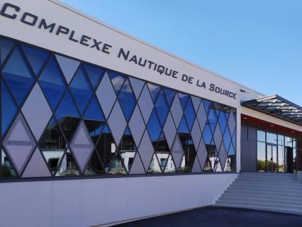 Wicona nous fait plonger au cœur de la rénovation du centre aquatique La Source à Orléans