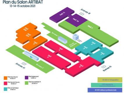 Très attendu en octobre, Artibat confirme une surface d'exposition déjà occupée à 85 %