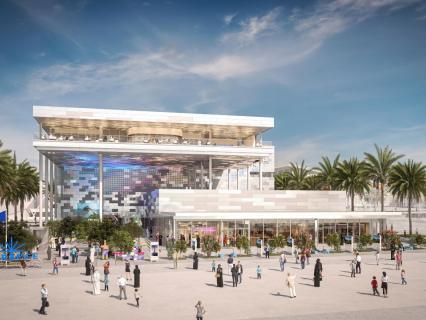 Le vitrage dynamique SageGlass® sélectionné pour équiper le Pavillon France à Dubaï