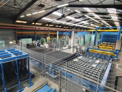 RIOU Glass maintient le cap et investit 1,6 M€ dans son usine mayennaise RIOU Glass VIO