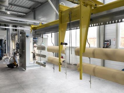 Soprofen investit dans une nouvelle unité de thermolaquage et agrandit son site