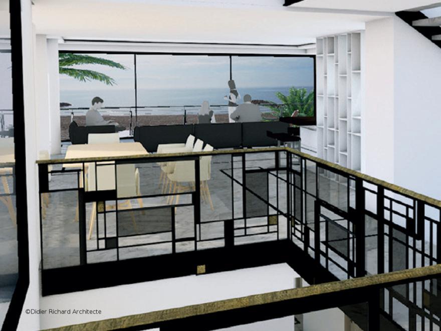 Villa Germa : l'ouverture maximale sur la mer