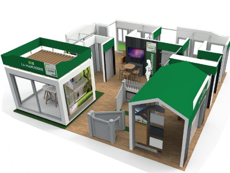 Batiman crée un espace expert de menuiserie pour les points de vente de ses partenaires