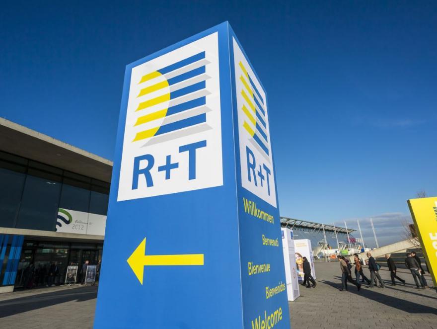 Le Salon international leader R+T se prépare à Stuttgart pour 2022