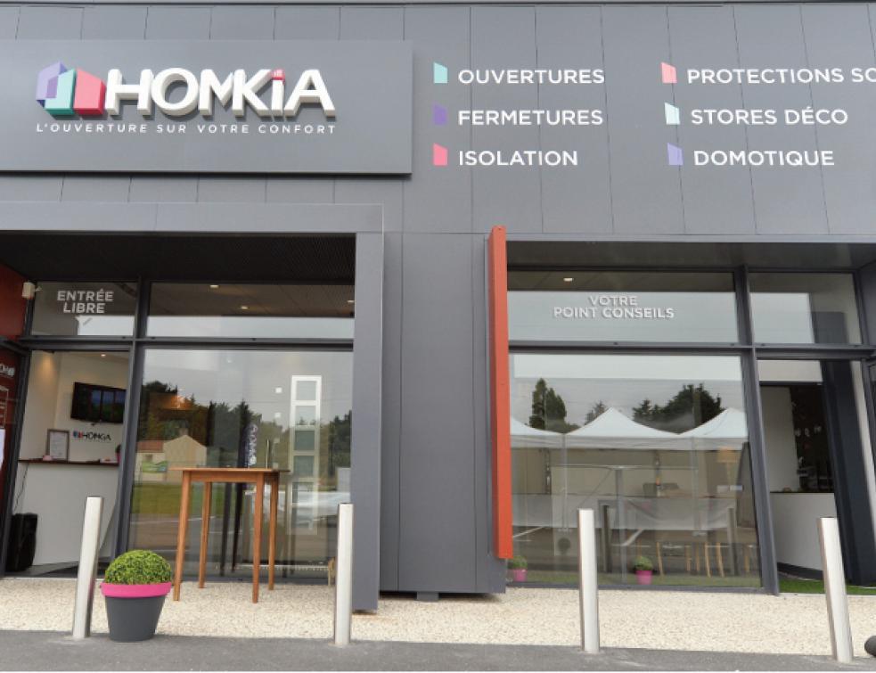 Homkia démultiplie son développement