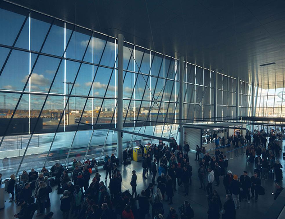 Port Ouest d'Helsinki, le SV 3% KoolblackTM de Mermet tisse sa toile au pays du soleil de minuit