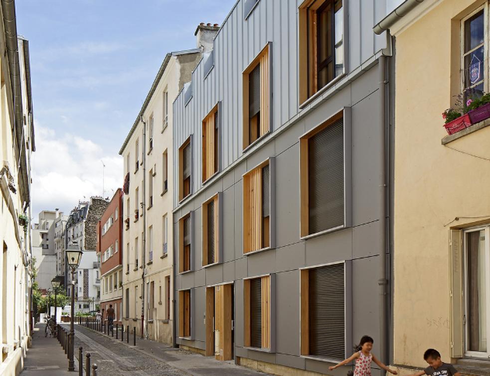 Première réalisation parisienne d'habitat social labellisée maison passive