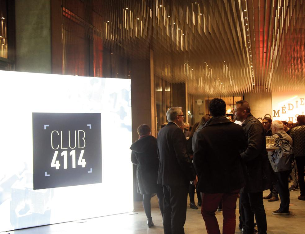 Le tout nouveau Club 4114 de Technal