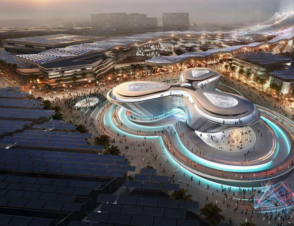 Un pavillon français irradiant pour l'Expo universelle de Dubaï 2020
