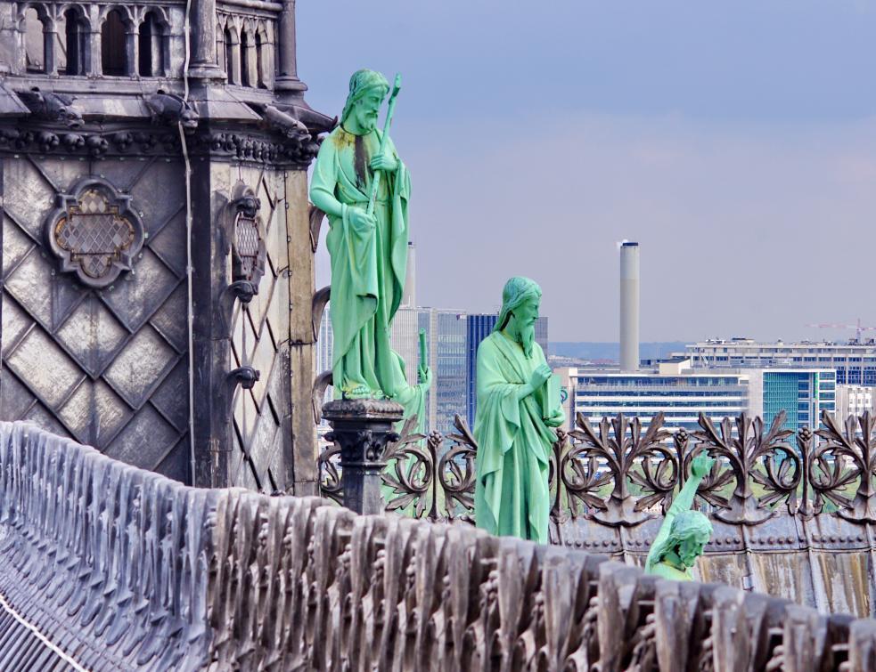 Un chantier qui devait durer 20 ans sur Notre Dame de Paris