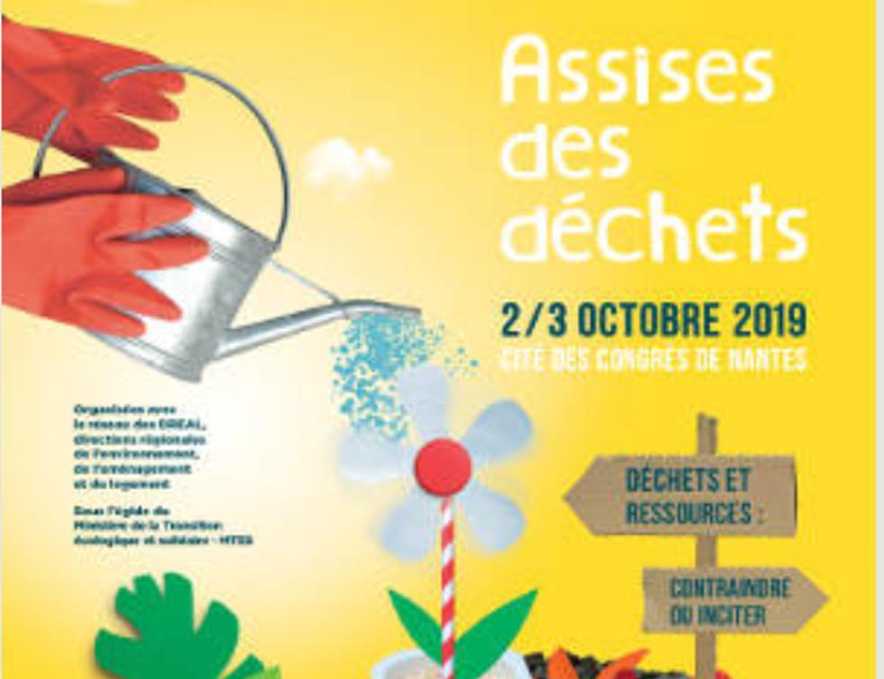 15ème édition des Assises des déchets à Nantes