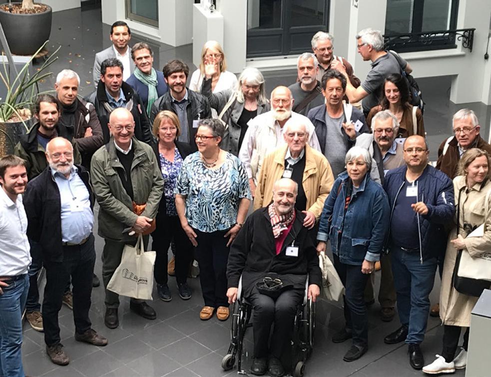 Lorenove a reçu 30 architectes de la compagnie des architectes de copropriété