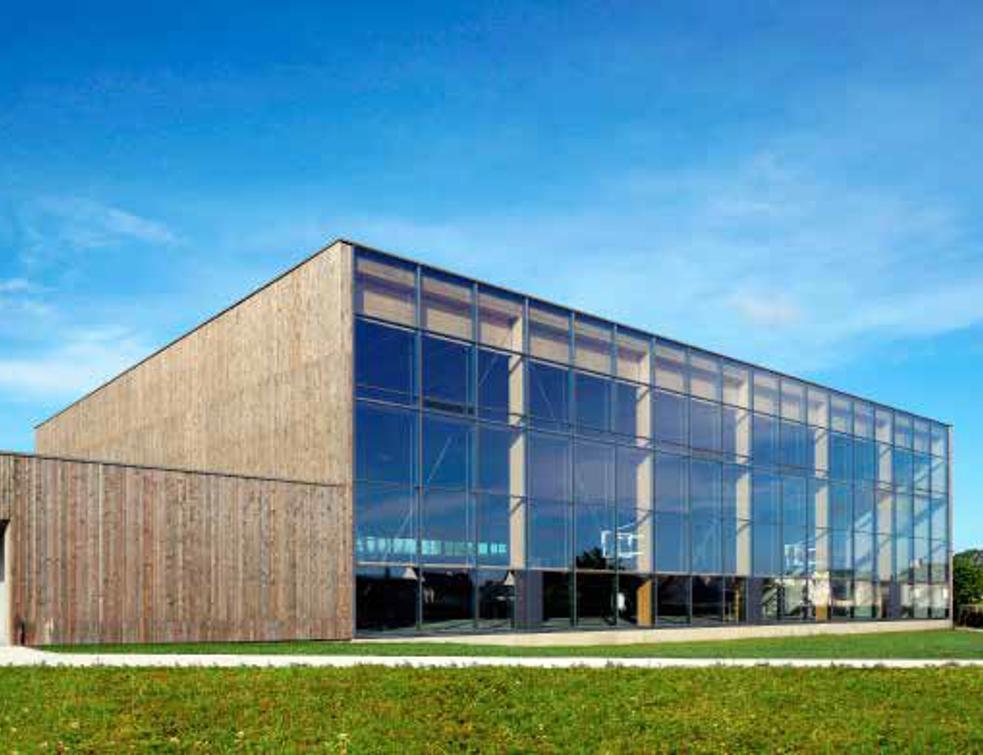 Salle omnisports de Langueux : esprit pionnier & exemplaire